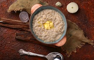 Bubur Lambuk Traditional Porridge From Malaysia Southeast Asia