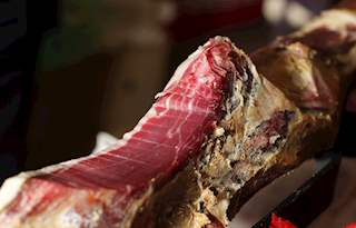 Drniski Prsut Local Prosciutto Jamon Jambon From Drnis Croatia