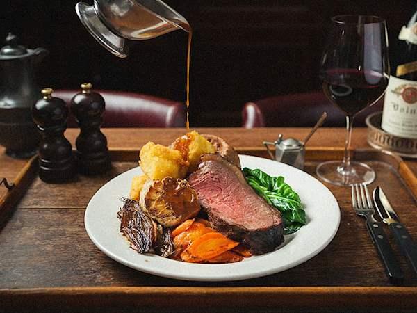 Sunday Roast In Hawksmoor Seven Dials