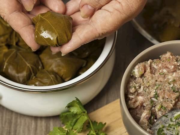 Yarpaq Dolması | Traditional Meat Dish From Azerbaijan