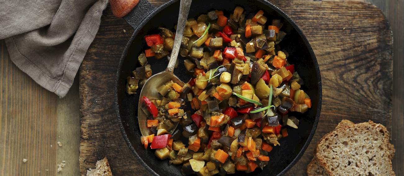 100 Most Popular Vegetable Dishes in the World