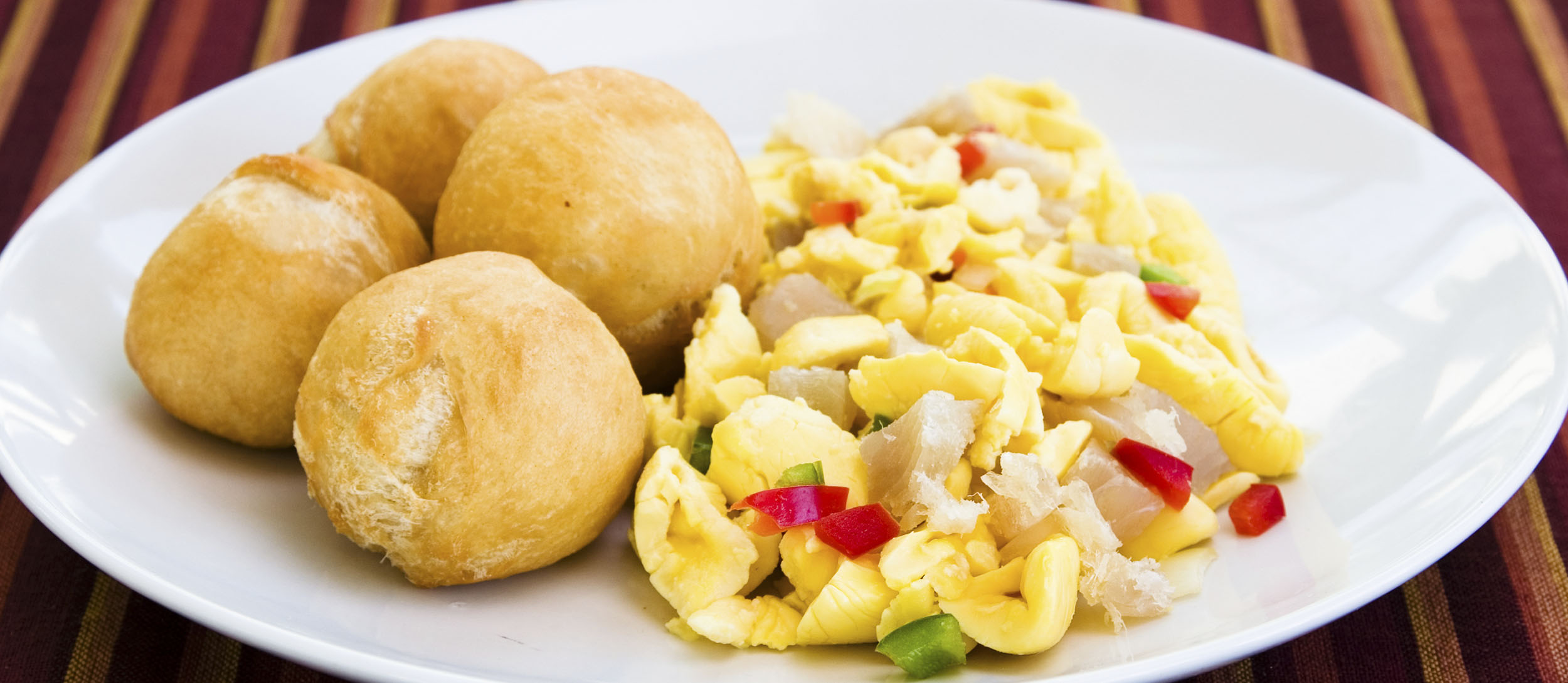 Ackee And Saltfish | Traditional Breakfast From Jamaica, Caribbean ...
