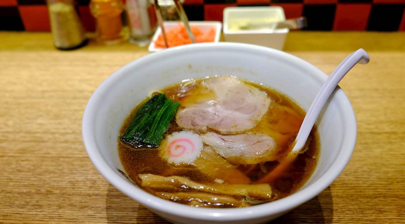 ราเมง โชยุราเมง Shoyu ramen 醤油拉麺, 醤油ラーメン
