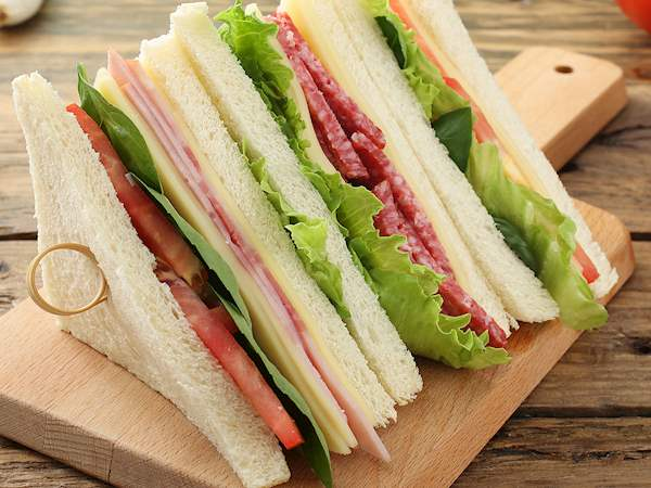 Tramezzino   Traditional Sandwich type From Turin, Italy