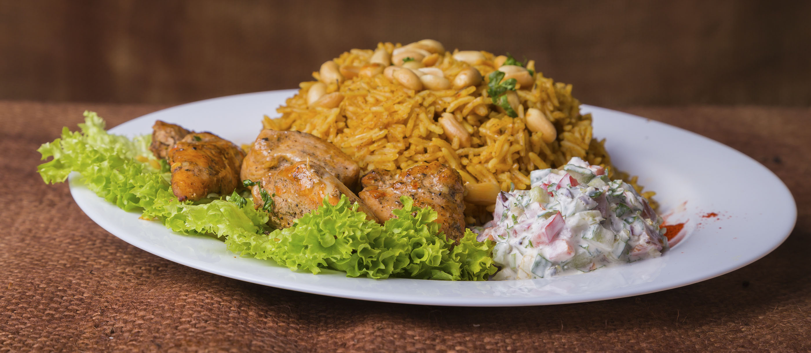 Kabsa Traditional Rice Dish From Saudi Arabia