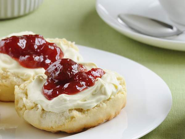 Cornish Clotted Cream Local Cream From Cornwall England
