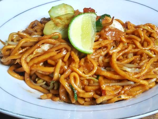 Mie Aceh Traditional Noodle Dish From Aceh Indonesia