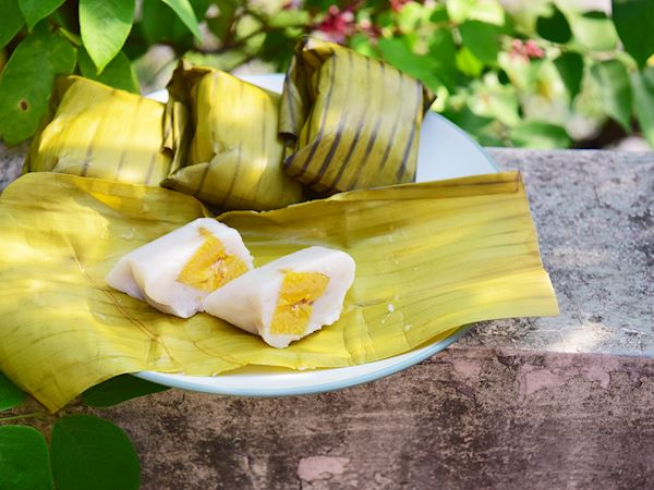 Nagasari Traditional Dessert From Indonesia Southeast Asia