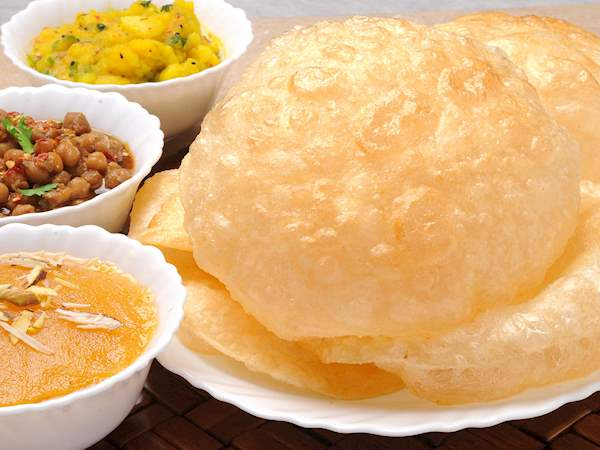 Image result for halwa puri