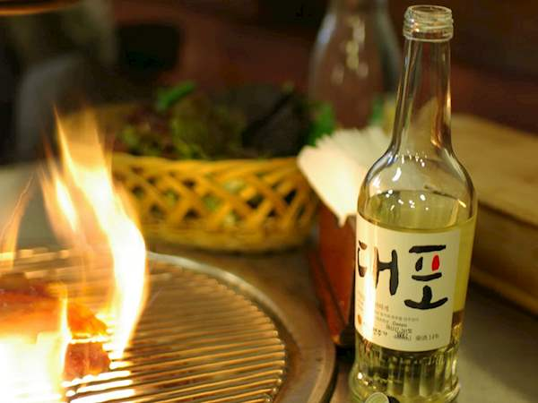 Cheongju Rice Wine Local Alcoholic Beverage From South Korea