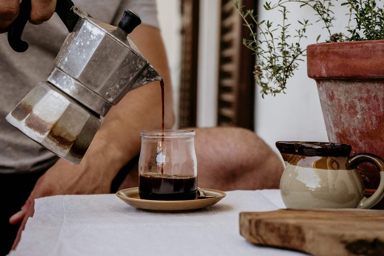 กาแฟโมก้า Caffè moka